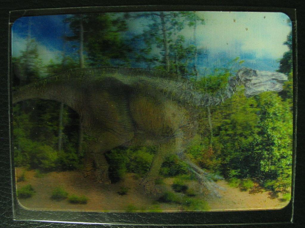 とびだせ恐竜ウェハースチョコ その3: 趣味人じゅんぴんの日常